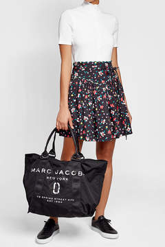 Marc Jacobs Printed Tote with Cotton - BLACK - STYLE