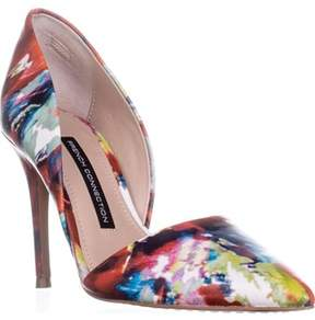 French Connection Elvia D'orsay Heels, Fracture Floral.