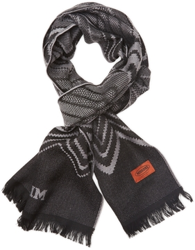 Missoni Men's Long Chevron Wool Scarf