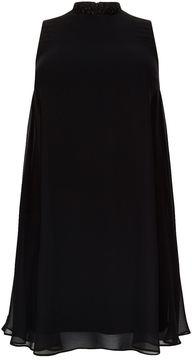 Basler Embellished Trapeze Dress