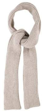 Maison Margiela Wool Blend Long Scarf