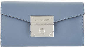 Vince Camuto Leather Push-Lock Wallet - Friar