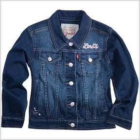 Levi's Girls 4-6x Butterfly Trucker Jean Jacket