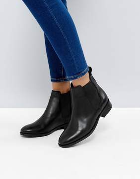 Office Bramble Leather Chelsea Ankle Boots