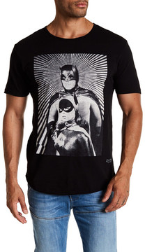 Kinetix Batman & Catwoman Graphic Print Tee