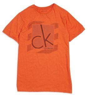 Calvin Klein Jeans Boy's Cozy Tee