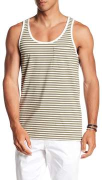 Saturdays NYC Rosen Feeder Stripe Pocket Tank Top