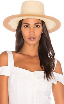 Janessa Leone Quatre Hat