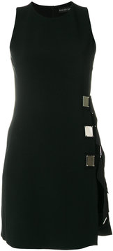 David Koma square detail mini dress