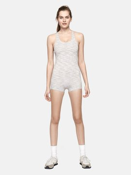 Outdoor Voices Strata Silverstone Bodysuit