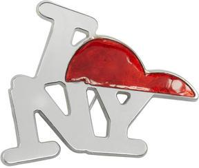 Raf Simons Silver NY Pin