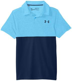 Under Armour Kids Threadborne Blocked Polo Boy's Clothing
