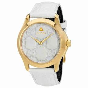 Gucci G-Timeless White Dial Mesn Watch YA1264033