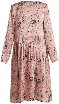 DAY Birger et Mikkelsen SHRIMPS Heather doodle-print silk dress