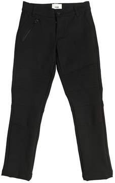 Fendi Milano Jersey Biker Pants