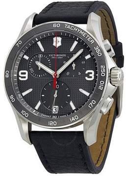 Victorinox Chrono Classic Leather Chronograph Mens Watch 241657