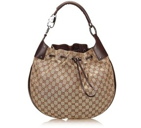 Gucci Pre-owned: Jacquard Shoulder Bag. - BROWN - STYLE
