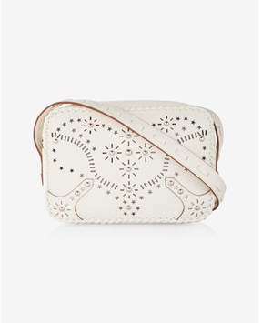 Express Perforated Western Cross Body Bag