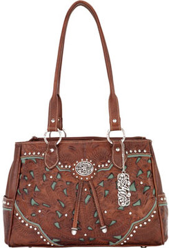 American West Lady Lace Multi Compartment Organizer Tote (Women's)