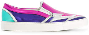 DSQUARED2 colour-block slip-on sneakers