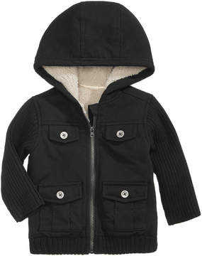First Impressions Fleece Cargo Jacket, Baby Boys (0-24 months), Created for Macy's