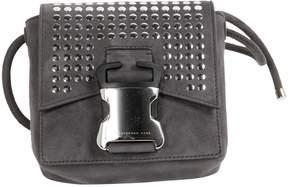 Christopher Kane Grey Suede Handbag