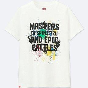 Uniqlo Boy's Lego-« Graphic Short-sleeve T-Shirt