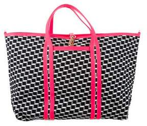 Pierre Hardy Tricolor Polycube Tote