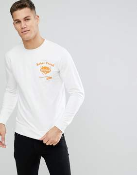 ONLY & SONS Sweatshirt With Rebel Youth Front And Back Print
