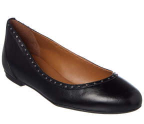 French Sole Spirit Leather Flat