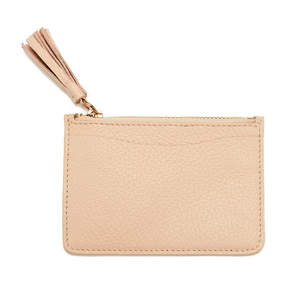 Cuyana Leather Zipper Cardholder