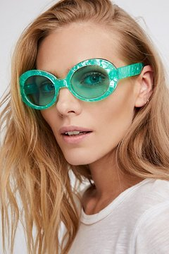 Free People Oval The Top Sunnies