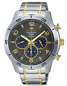 Pulsar Men's Chronograph Two-Tone Stainless Steel Watch