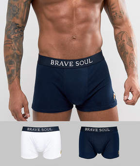 Brave Soul 2 Pack Pepperoni Boxer