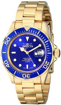 Invicta Pro Diver Men's Watch 9312 Gold/Blue Swiss Quartz