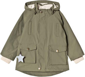 Mini A Ture Deep Green Waterproof Parker Jacket