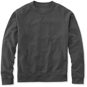 L.L. Bean Lakewashed Garment-Dyed Sweatshirt, Crewneck Slightly Fitted