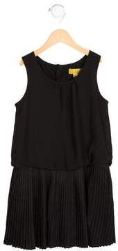 Nicole Miller Girls' Sleeveless Pleated Dress w/ Tags