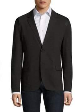 HUGO Alton Slim-Fit Button-Front Blazer
