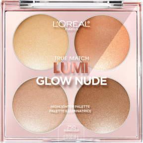L'Oreal True Match Lumi Glow Nude Highlighter Palette