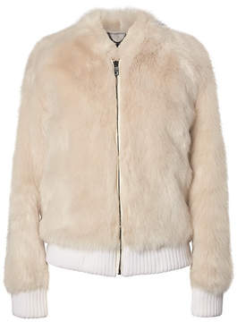 Banana Republic Faux Fur Bomber