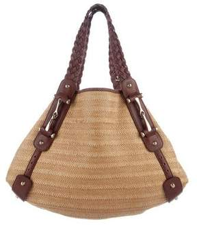Gucci Woven Pelham Bag - BROWN - STYLE