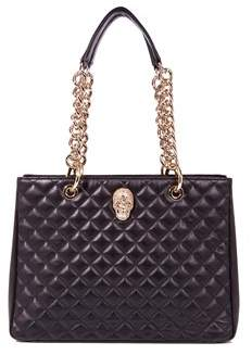 Philipp Plein Women's Black Leather Shoulder Bag.