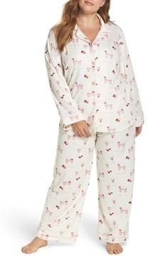 BedHead Plus Size Women's Strawberries & Champagne Print Pajamas