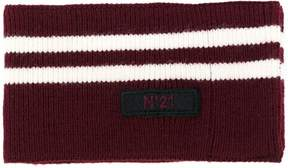 No.21 striped scarf