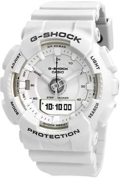 Casio G-Shock S Series Alarm White Dial Ladies Watch