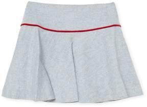 Oscar de la Renta Tweed Scallop Skirt