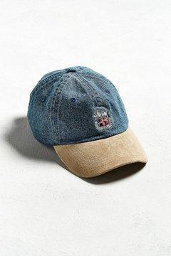 Stussy Denim Suede Crest Hat