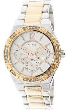 GUESS U0845L6 Silver Stainless-Steel Japanese Quartz Fashion Watch