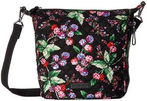 Vera Bradley Carson Mini Hobo Crossbody Cross Body Handbags - WINTER BERRY - STYLE